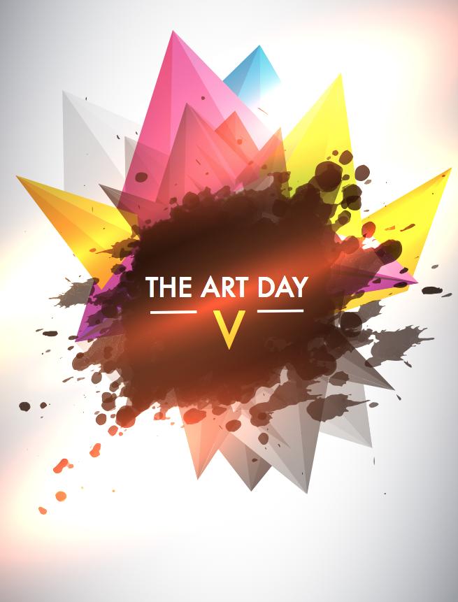 Affiche du concours the art day 5